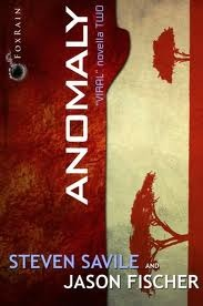 Cover for one of the novellas in the series - Anomaly